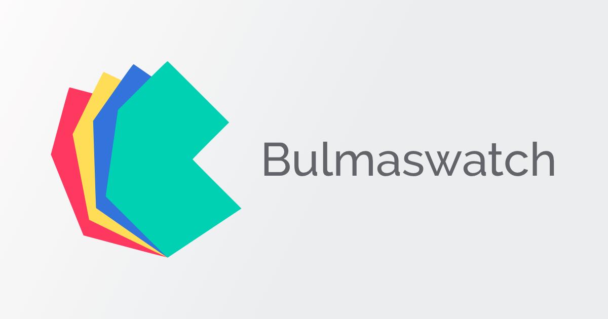 Home • Bulmaswatch - Free themes for Bulma - A modern CSS framework